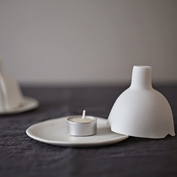 Igloo tealight holder