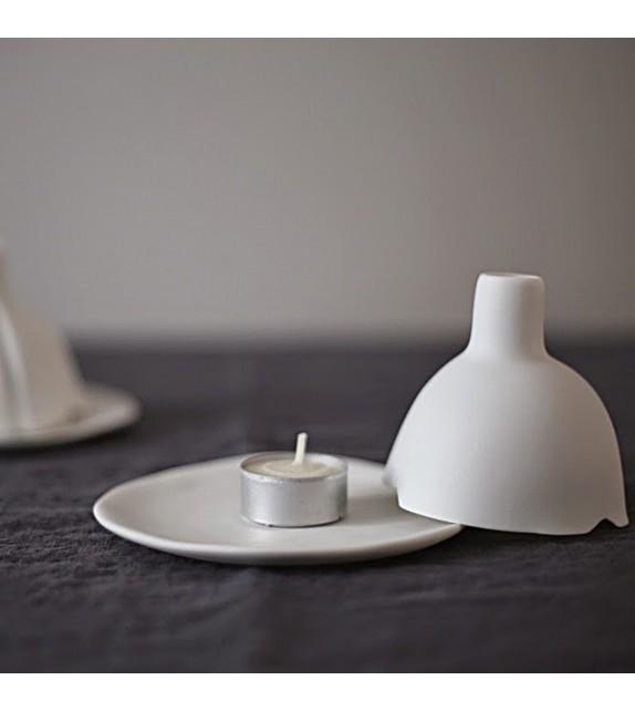 Igloo tealight holder