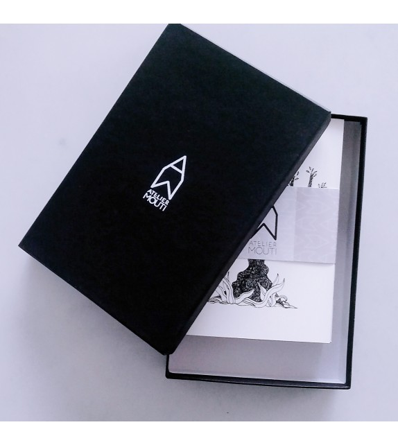 6 A6 notebooks gift box