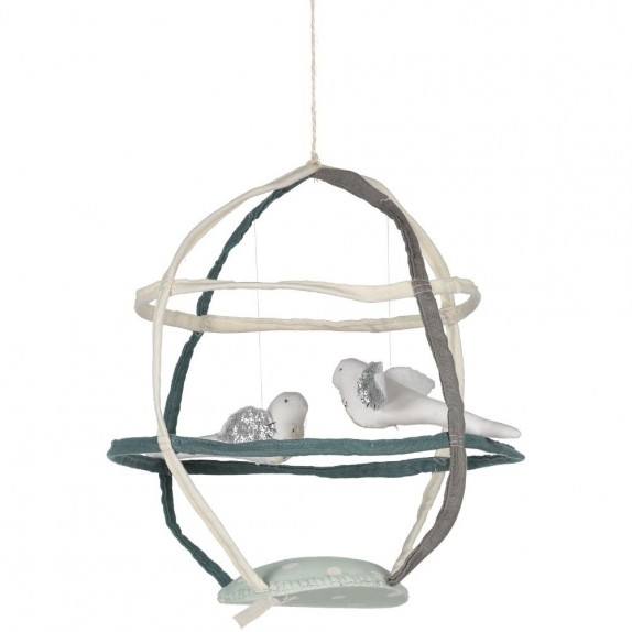 2 Birds Mobile Cage