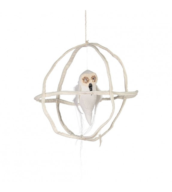 Single Owl Mobile Cage