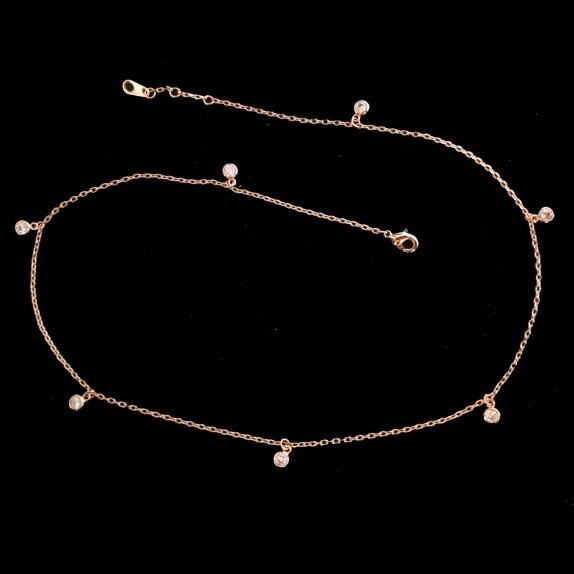 7 Swarovski necklace