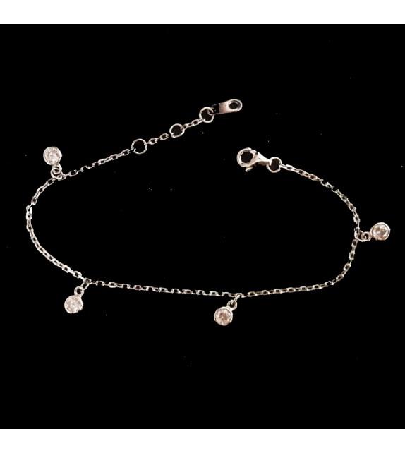 La Bracelet Chainette Breloques Et Swarovski Langerie wPO8n0NkX