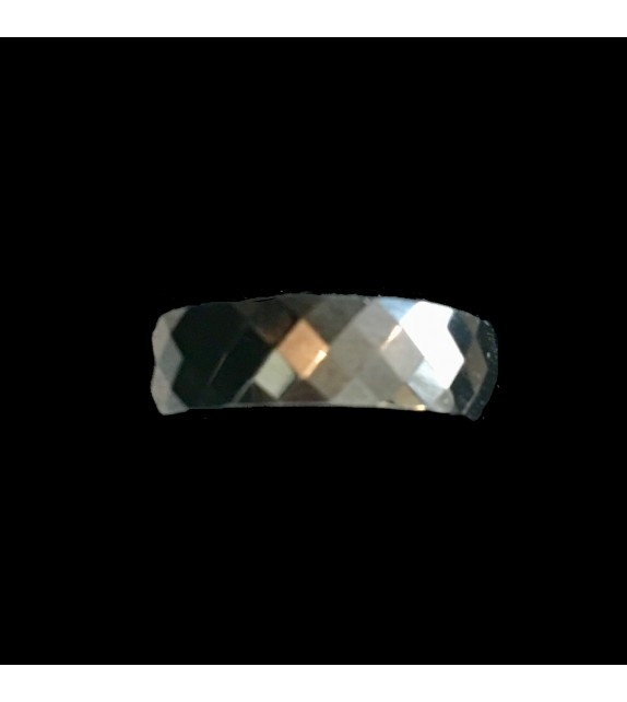 Faceted Glass Ring